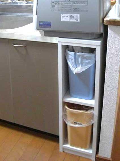 キッチンすき間棚-DT-037