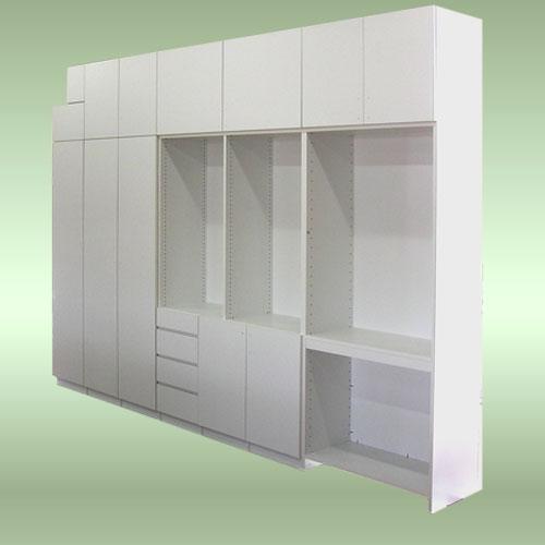 システム収納家具(PC机付き棚)LT-031