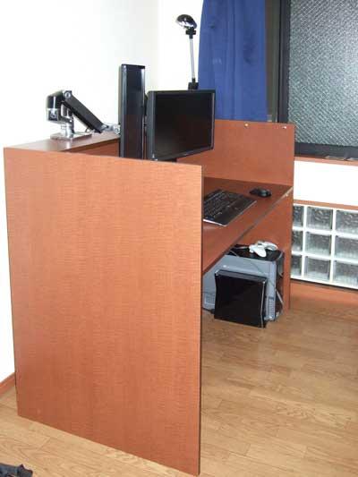 立ち、座り兼用PCデスク・PC-036B-40.jpg