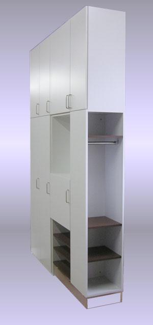システム玄関収納-玄関より見る。SB-016