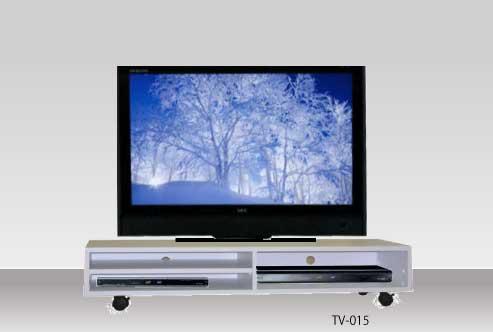 すっきりホワイトのシャープなテレビ台・TV-015